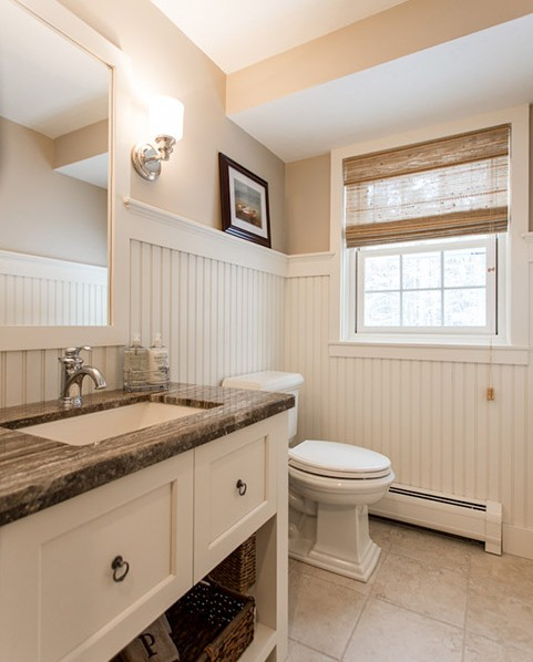 New england design elements renovation interior design for Bath remodel nh