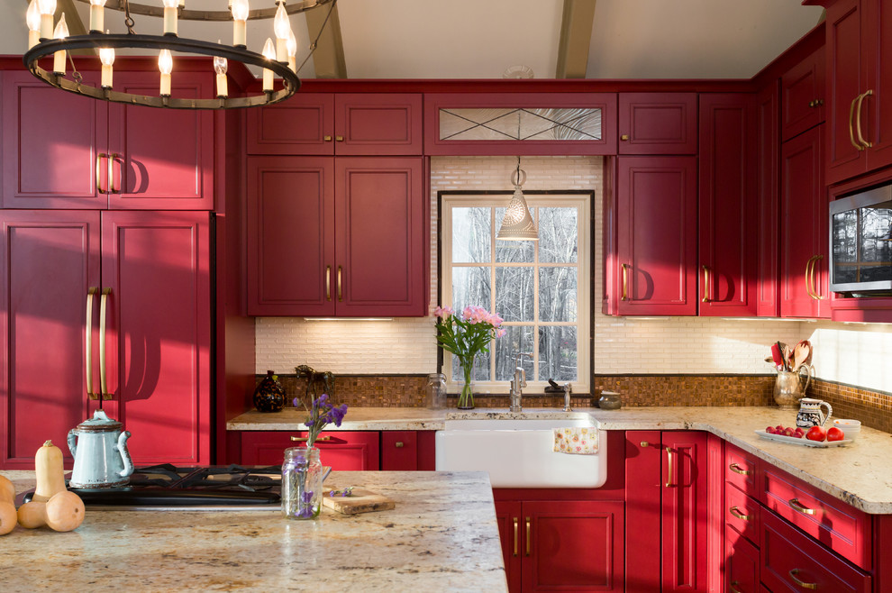 Farmhouse Fabulous Kitchen New England Design Elements