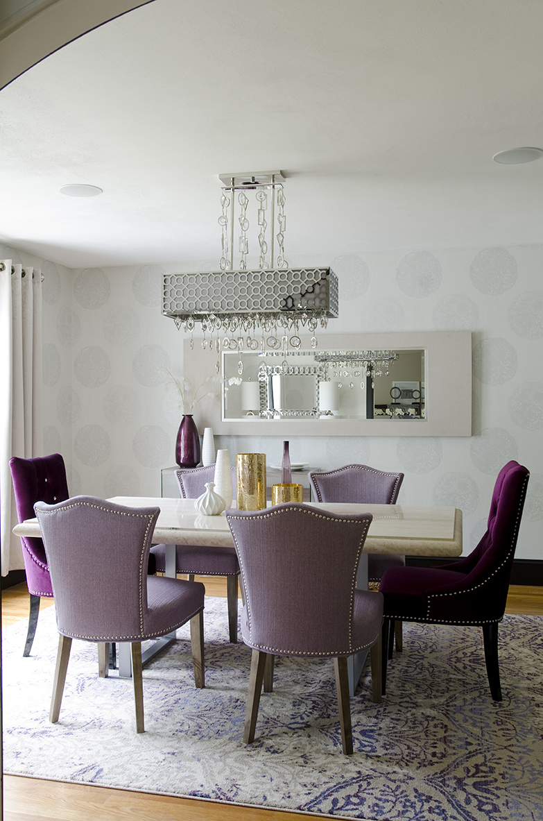 Elegant dining room renovation new england design elements for Dining room renovation