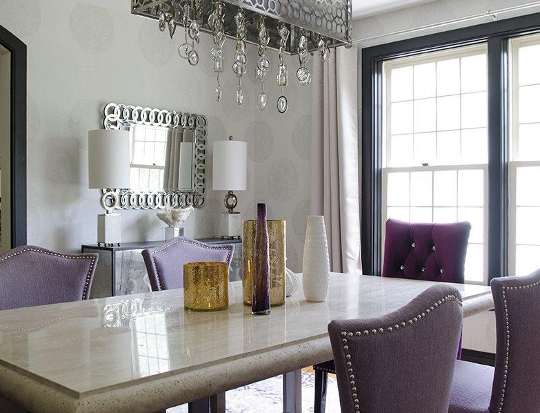 Elegant Dining Room Renovation