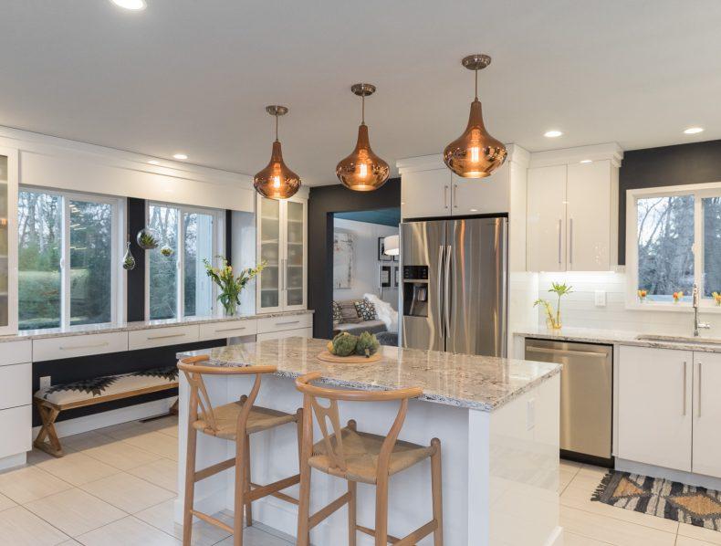Scandinavian Luxe Kitchen