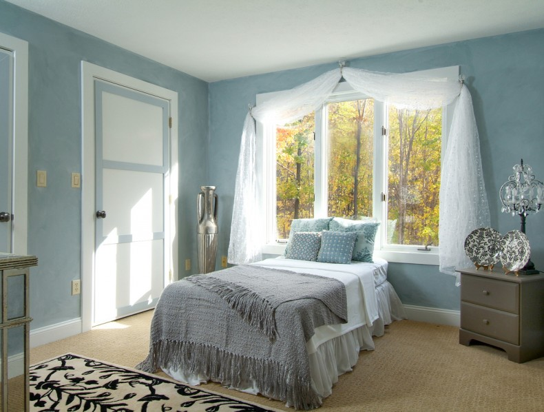 Calming & Elegant Bedroom