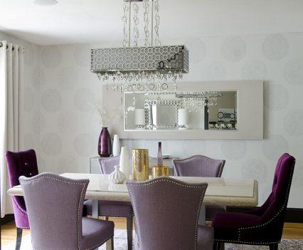 Elegant Dining Room Renovation New England Design Elements