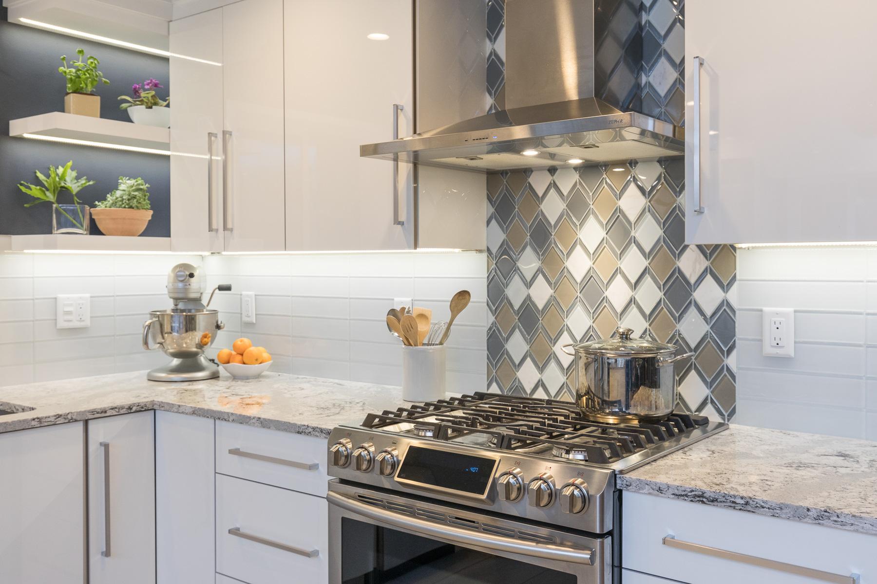 Scandinavian Luxe Kitchen New England Design Elements